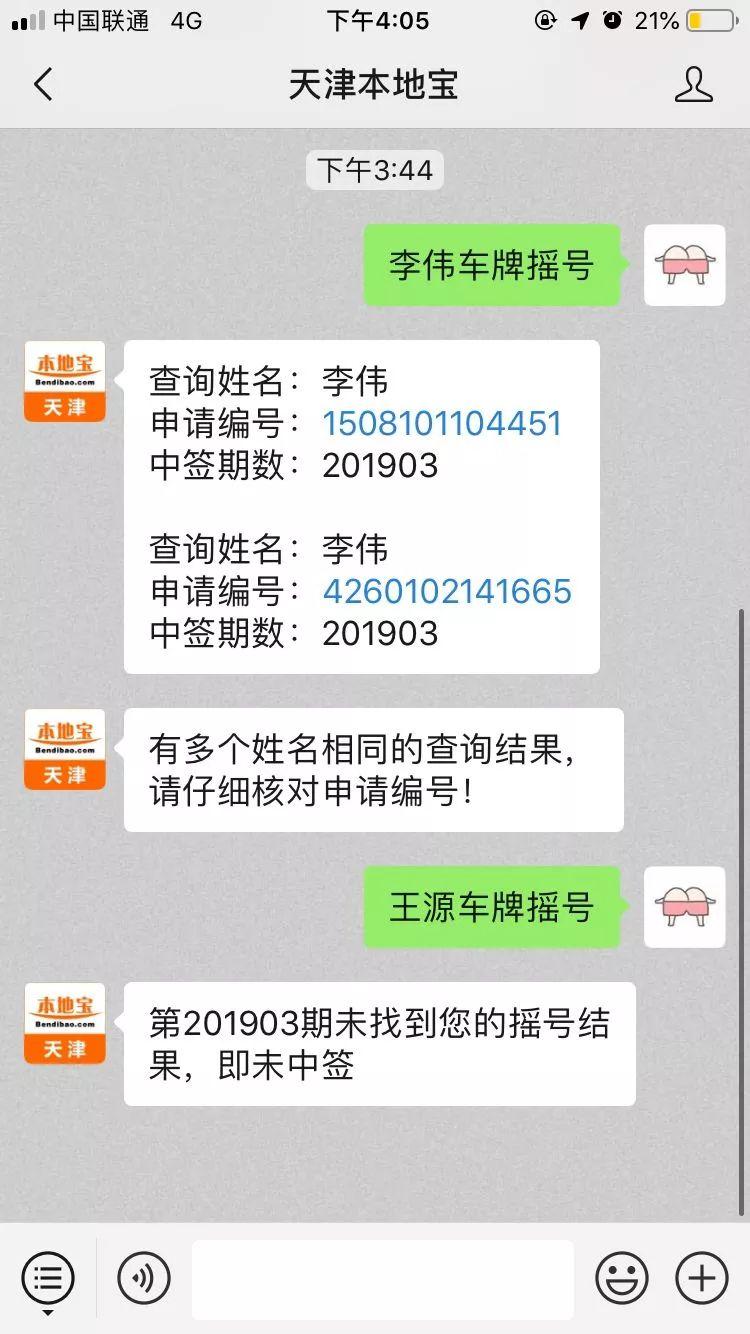2019年4月天津市小客车摇号配置数量