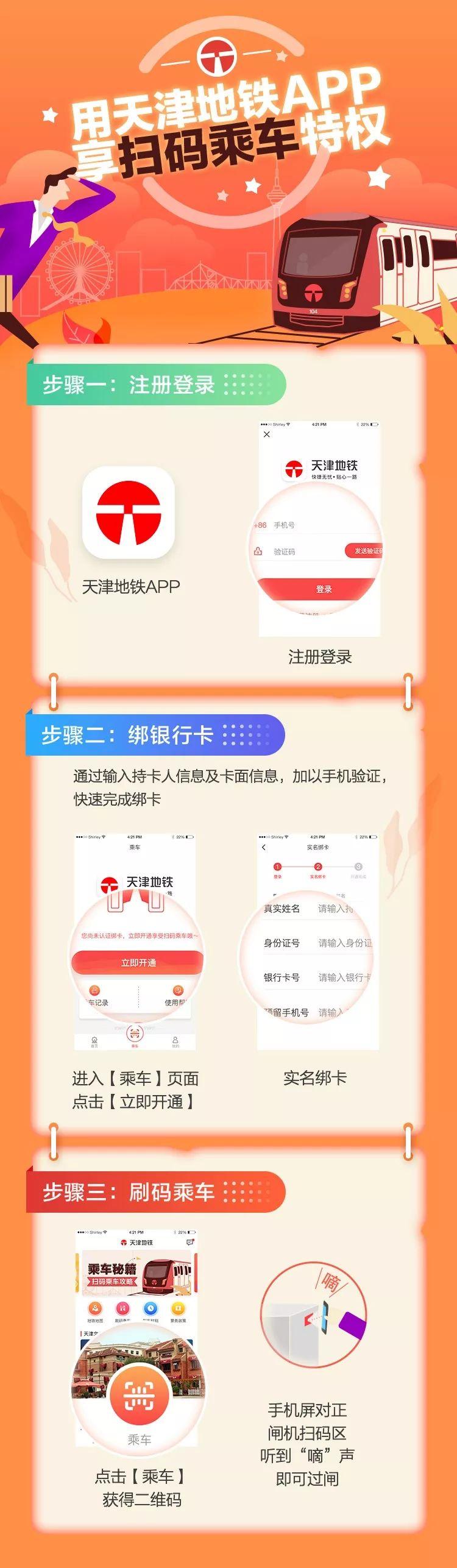天津1.8元乘地铁活动攻略(时间 操作指南)