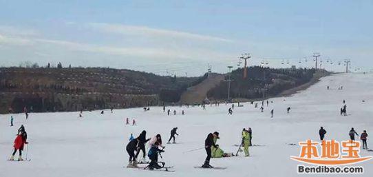 2018太原九龙国际滑雪场开园时间、地点、门票及交通