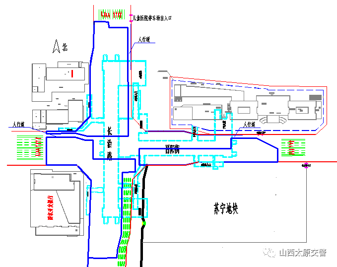 2018年5月22日起晋阳街长治路口封闭一年