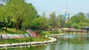 美丽儿童公园明泽湖