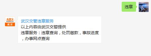 2017武汉驾驶证违章查询