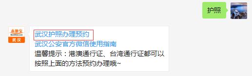 武汉护照办理网上预约办法(不断更新)