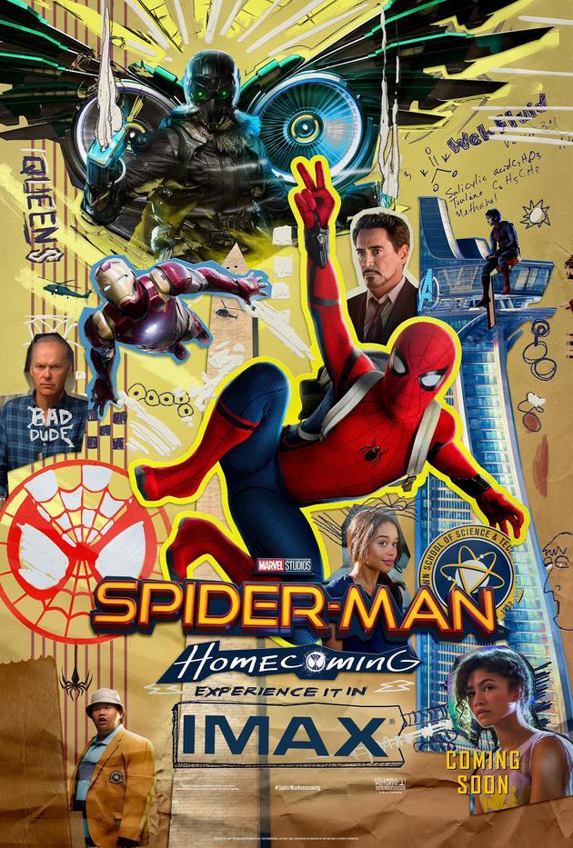 《蜘蛛侠:英雄归来》IMAX海报