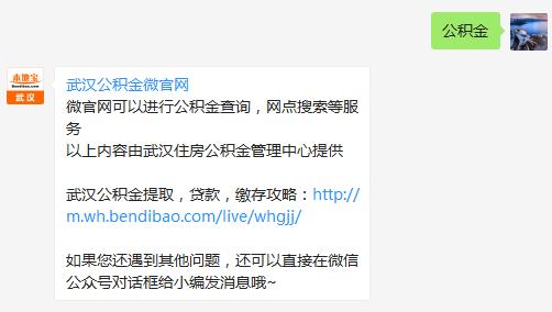 武汉公积金网查询指南(个人账户)