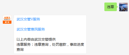 武汉交通违章处理点一览