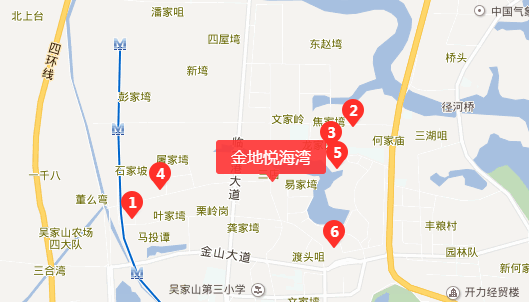 武汉金地悦海湾(房价+地址+开盘时间+户型图)