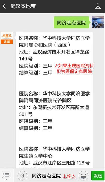 2018武汉医保定点医院名单