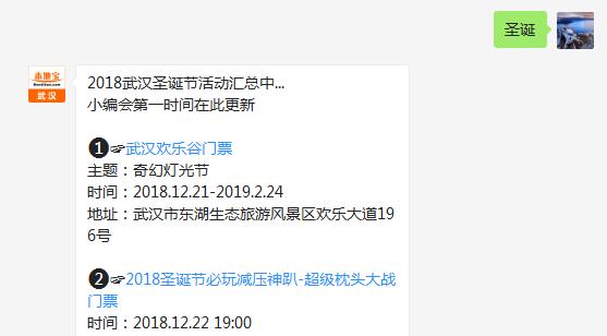 2018武汉欢乐谷圣诞节活动