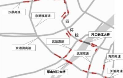 武汉军山长江大桥交通管制期延长 附绕行路线
