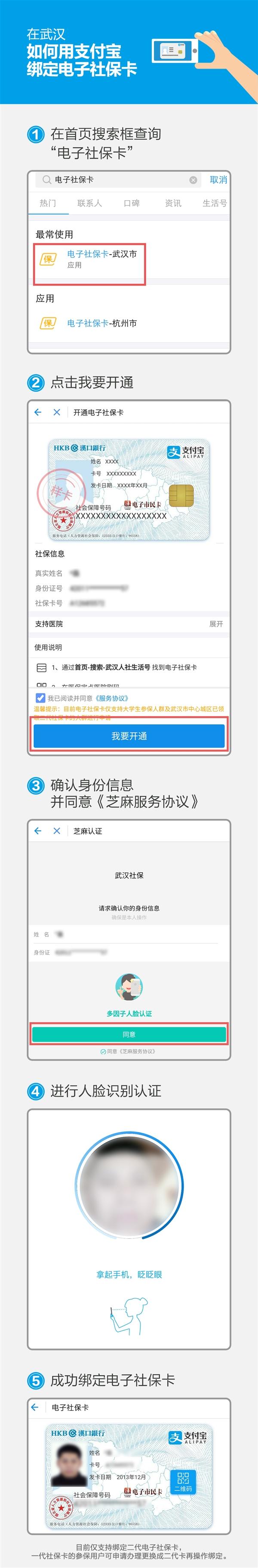 电子社保卡来了 武汉市民看病全程手机搞定