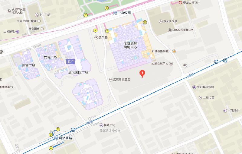 2018武汉茶博会交通指南