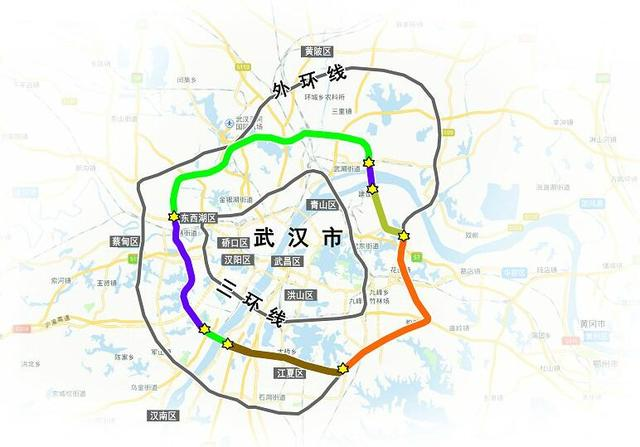 武汉四环线计划明年全线通车 后年独立成环