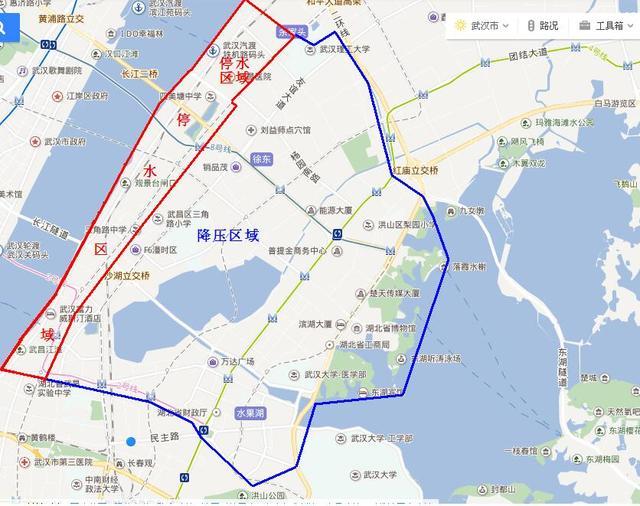 5月15日晚10点起武昌将停水20小时