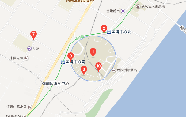 武汉国际博览中心在哪?怎么去?详细地址电话一览