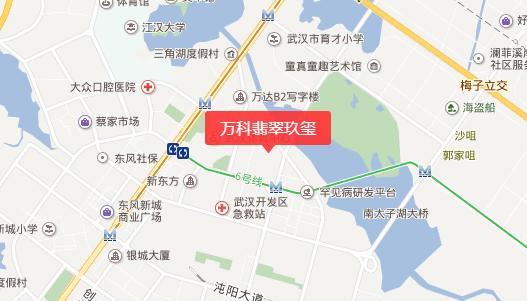 武汉万科翡翠玖玺(房价+地址+开盘时间+户型图)