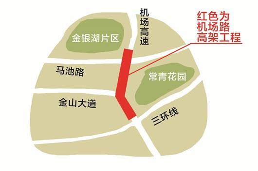 武汉建高架解决道路拥堵问题 方便20万居民出行