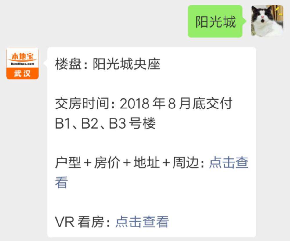 武汉阳光城央座(房价+地址+户型+周边等)