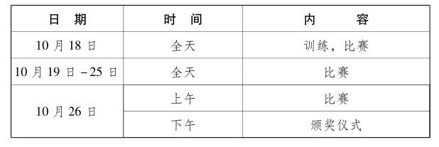 武汉军运会跳伞比赛赛程及观赛指南