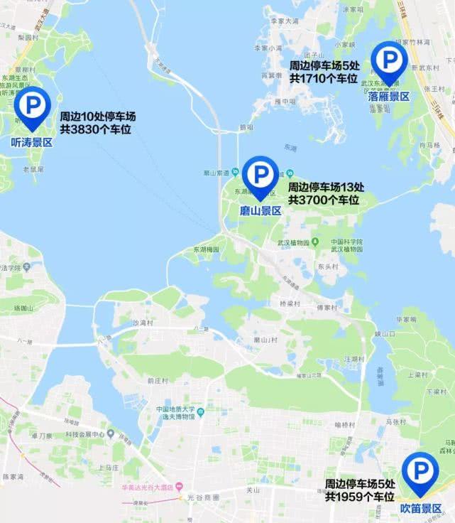 武汉本周末将有30万人游东湖 避堵指南