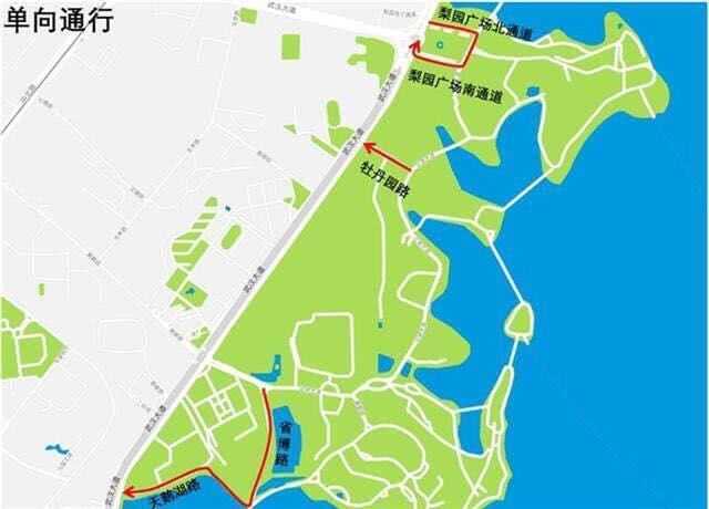 五一假期武汉部分路段实行单双号限行措施