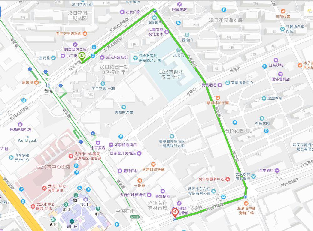 武汉百步亭路限行延期通知
