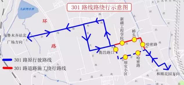 乌鲁木齐地铁二号线南梁坡站-农大站施工交通管制及通行方案
