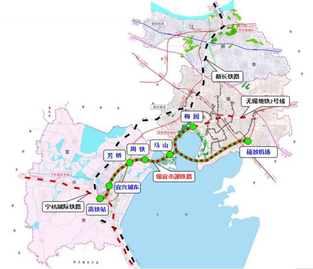 无锡地铁规划线路汇总(持续更新)