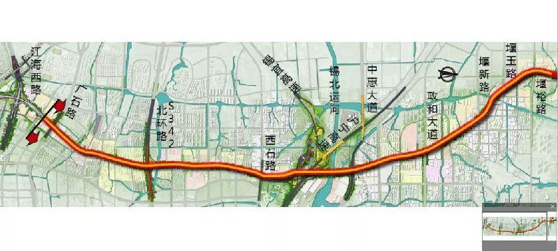 无锡凤翔路快速化改造项目全面展开 改造期间交通不中断