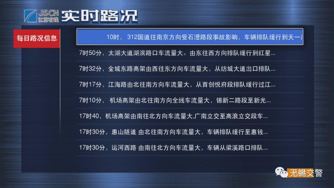 无锡电视交警升级 学法免分单次最高免6分