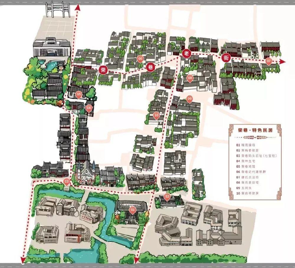 无锡荣巷历史街区游玩攻略(路线 景点)