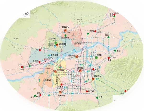西安立体综合交通发展战略规划一览