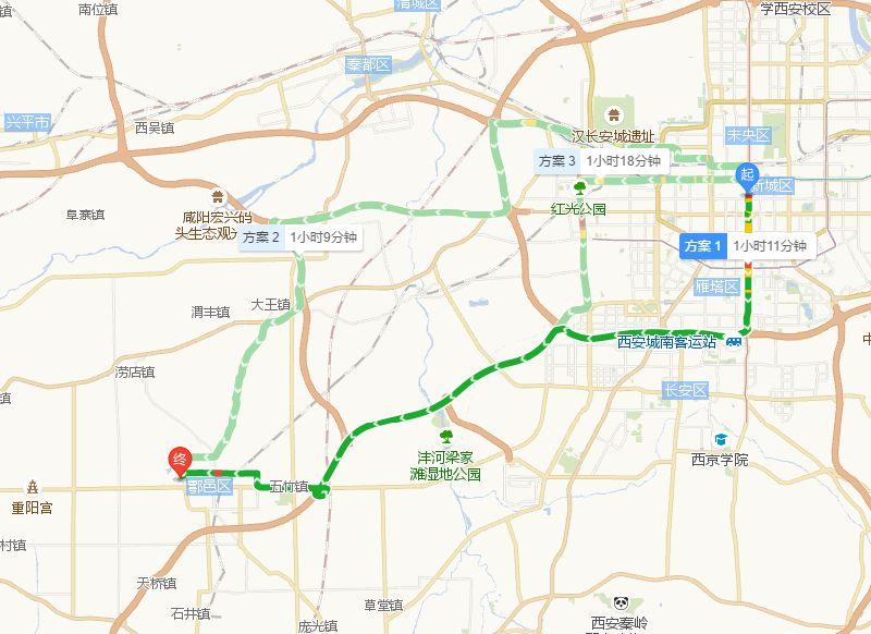 西安渼陂湖萯阳湖景区地址及交通指南