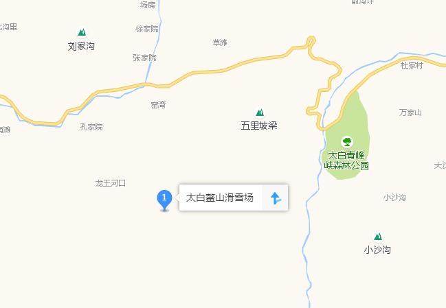 太白鳌山滑雪场在哪里?西安出发怎么去?