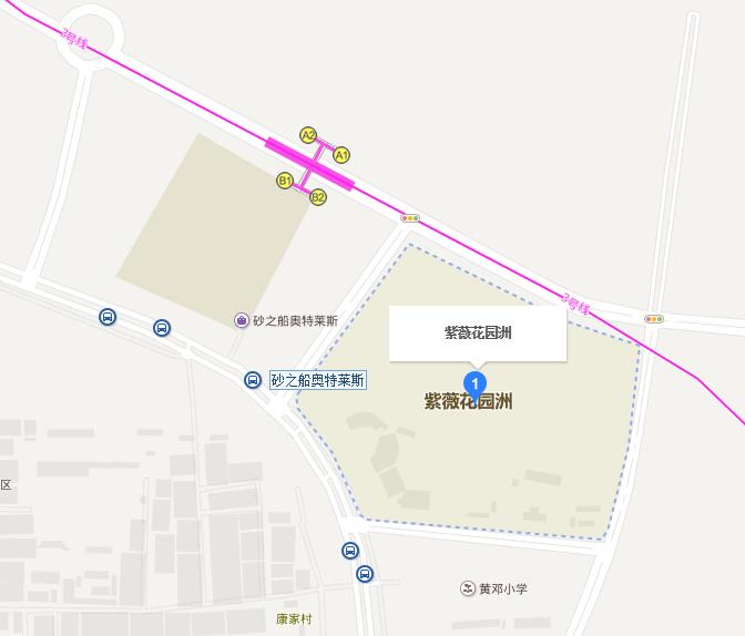 西安紫薇花园洲户型图