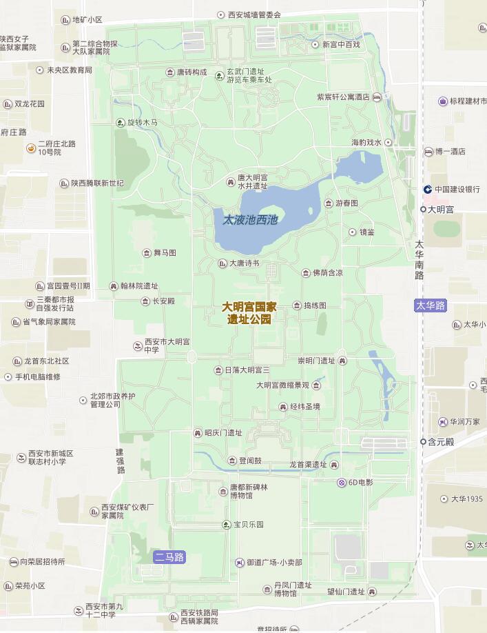 大明宫国家遗址公园收费还是免费?要不要门票?