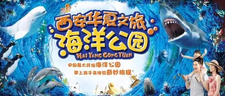 西安华夏文旅海洋公园游玩攻略(地址+门票+表演时间) 行业新闻 丰雄广告第1张