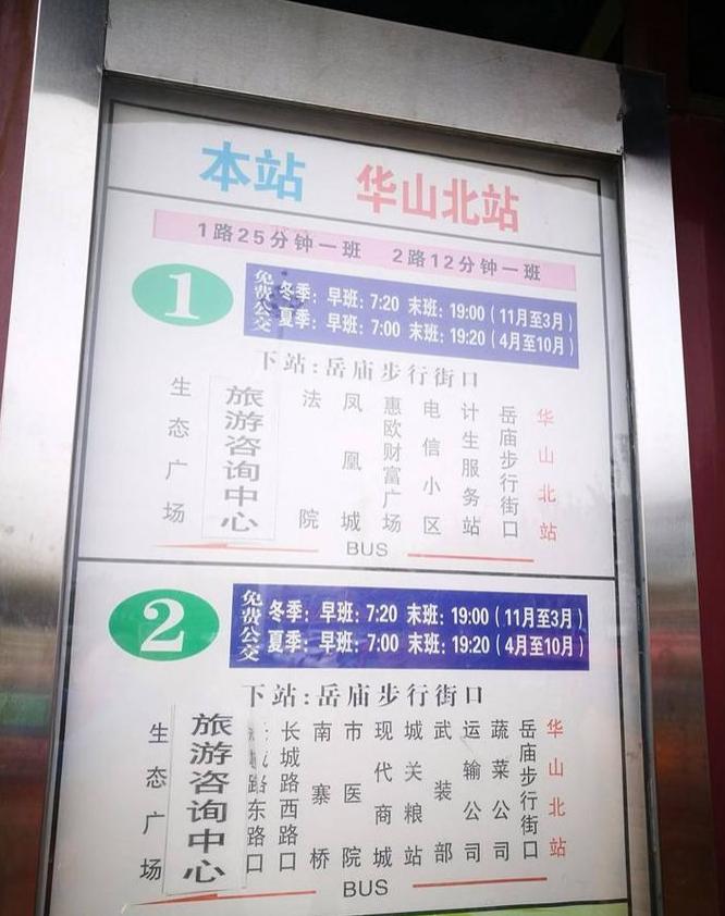 西安到华山旅游全攻略
