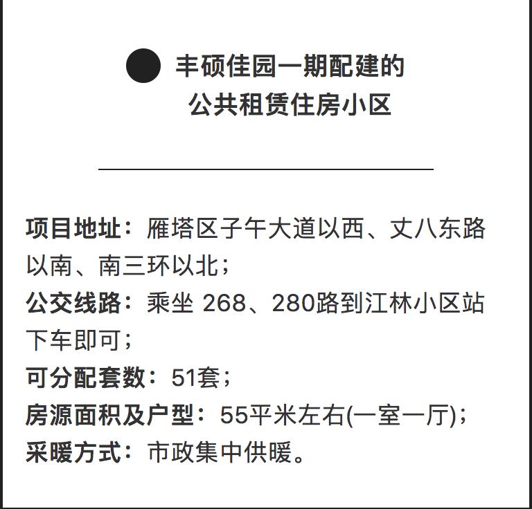 2019西安百花家园等14个公共租赁住房小区报名通知