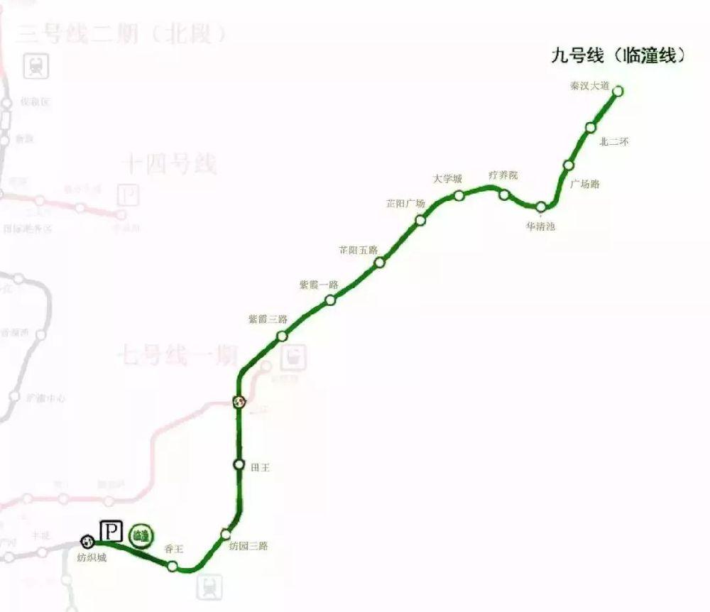 2019西安在建地铁线路