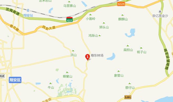 厦门翔安中非野生动物园交通指南
