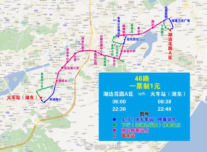 2019年厦门公交路线调整(持续更新)