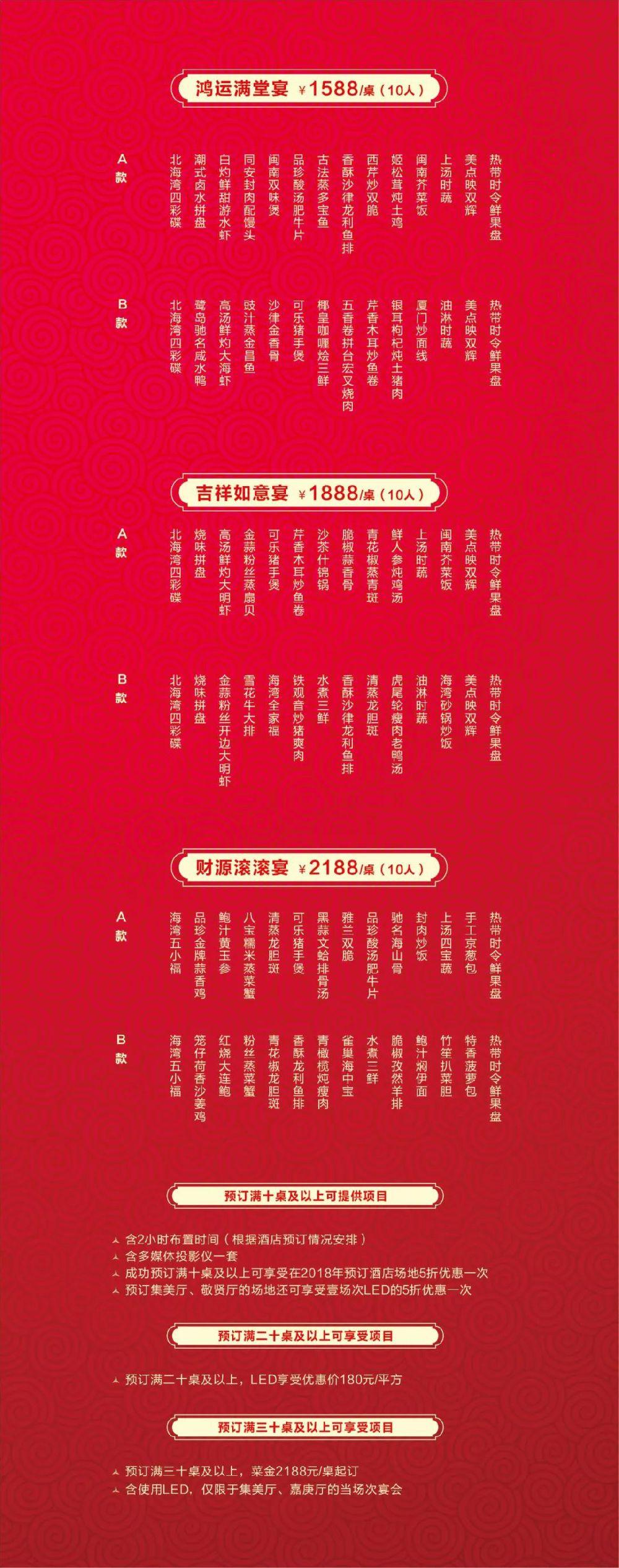 2019厦门北海湾惠龙万达嘉华酒店