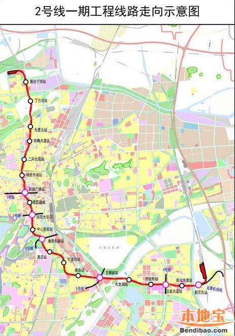 徐州地铁2号线最新消息 线路图 站点图片