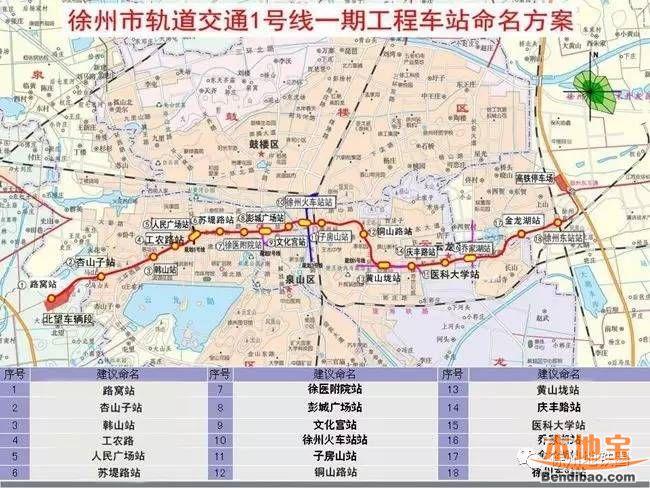 徐州地铁1号线建设进度图片
