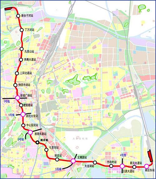 徐州地铁2号线图片