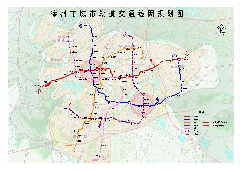 徐州地铁2号线线路图和规划图片