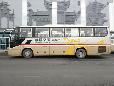 宜昌机场大巴在哪里坐