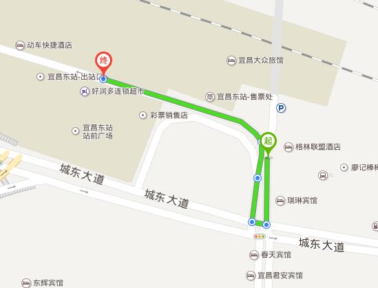 宜昌机场到宜昌东站怎么去