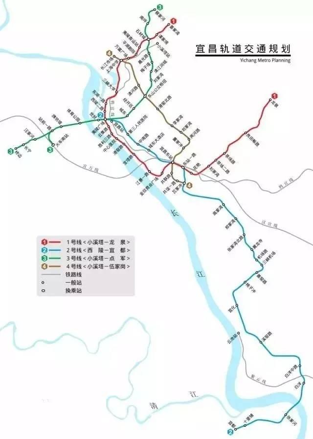 宜昌市城市轨道交通一期建设规划公示